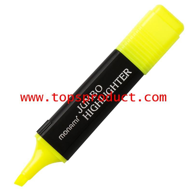 ปากกาเน้นข้อความ เหลือง (20715) โมนามิ Jumbo