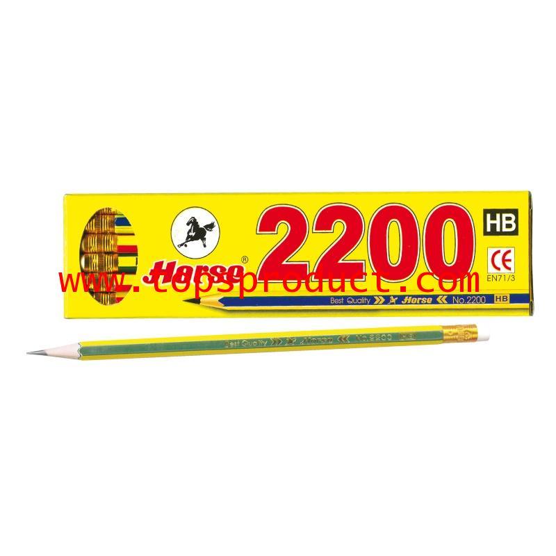 ดินสอ HB (กล่อง12แท่ง) ตราม้า H-2200