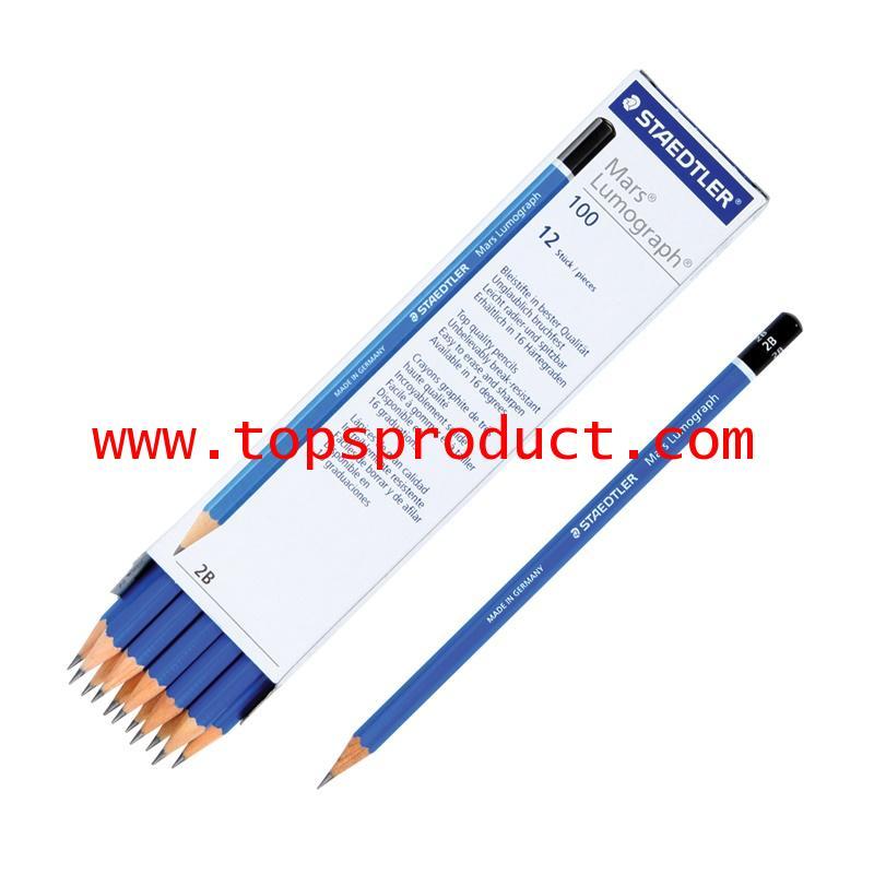 ดินสอเขียนแบบ 2B (1x12) 100 สเต็ดเล่อร์ Lumograph
