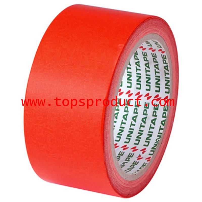 กระดาษกาวสี แกน 3นิ้ว 1 1/2นิ้วx20y. แดง ยูนิเทป