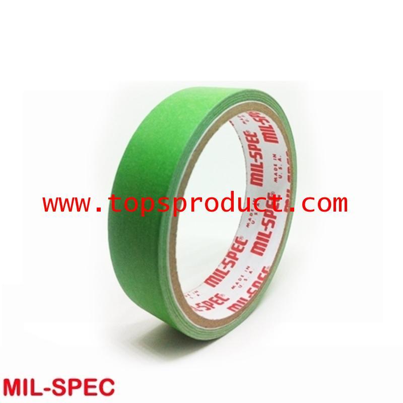 กระดาษกาวสีเขียวอ่อน แกน 3 1x12y Mil-Spec