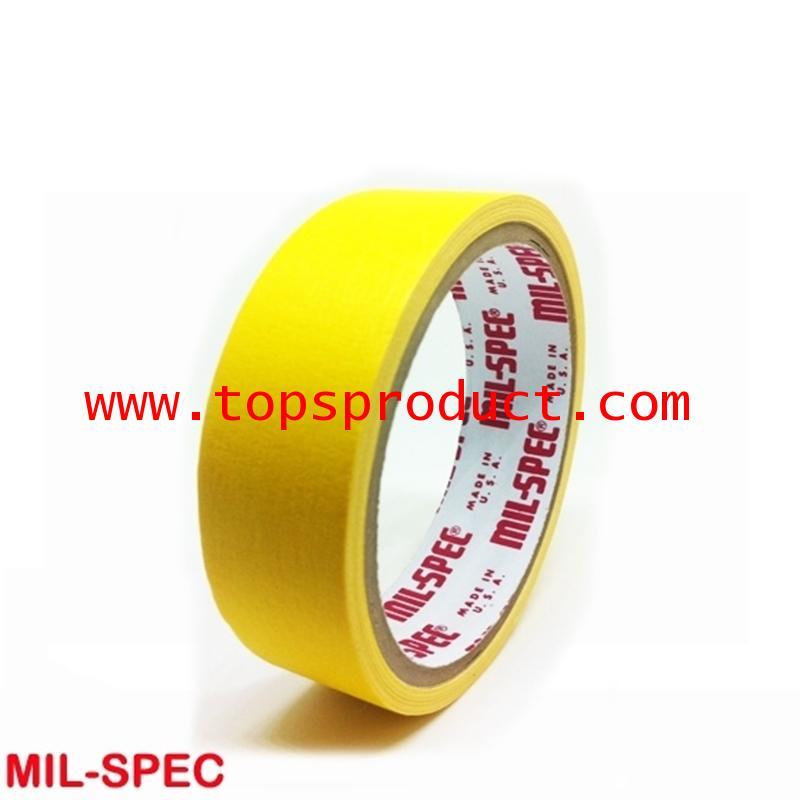กระดาษกาวสีเหลือง แกน 3 1x12y Mil-Spec