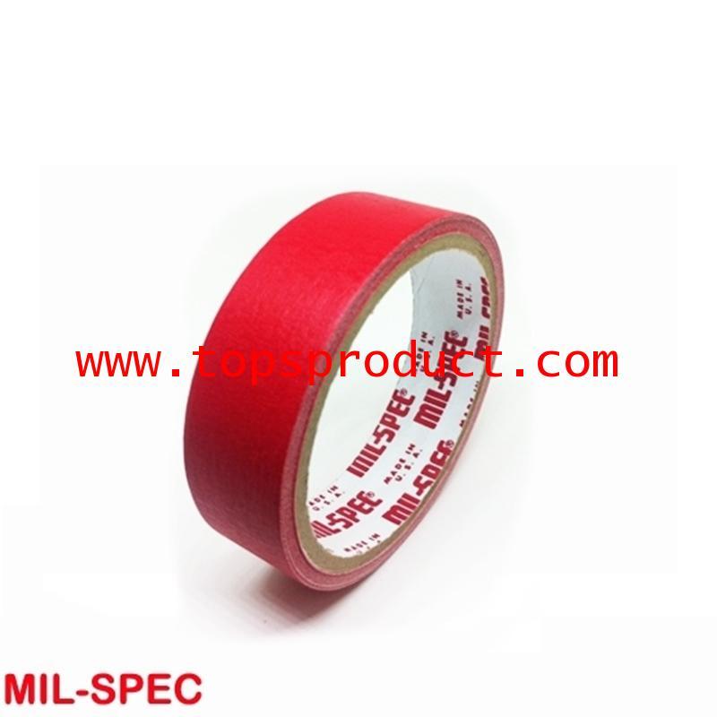 กระดาษกาวสีแดง แกน 3 1x12y Mil-Spec