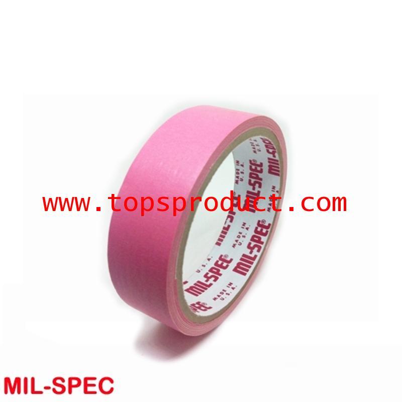 กระดาษกาวสีชมพู แกน 3 1x12y Mil-Spec