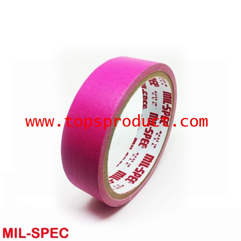 กระดาษกาวสีชมพูเข้ม แกน 3 1x12y Mil-Spec