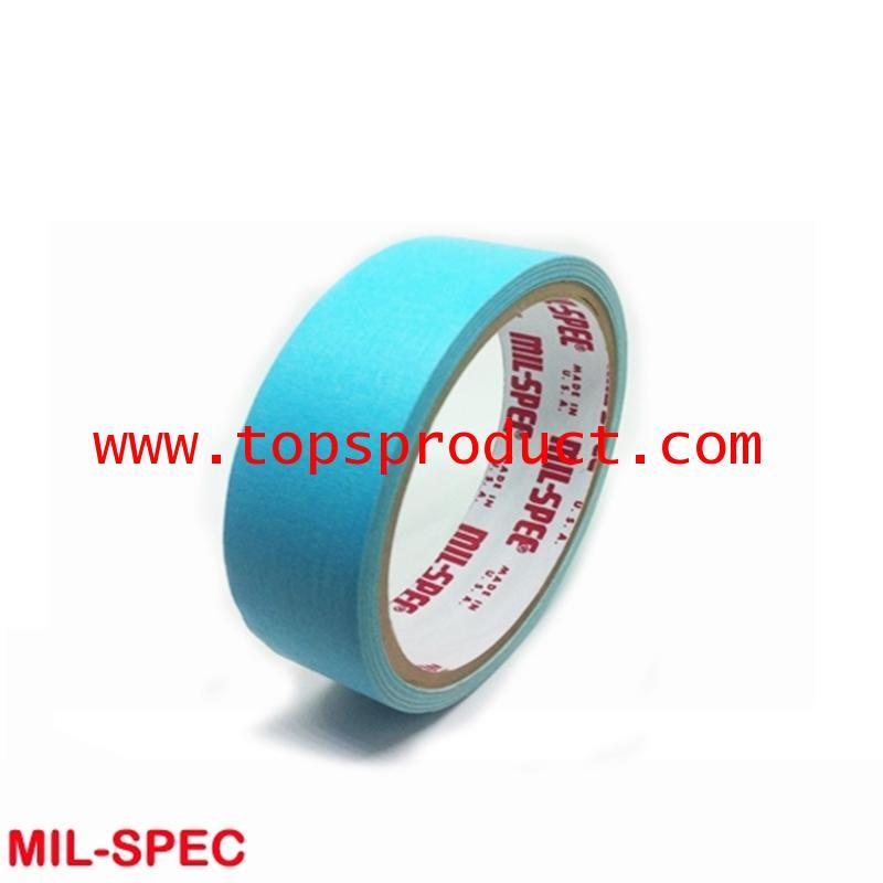 กระดาษกาวสีฟ้า แกน 3 1x12y Mil-Spec