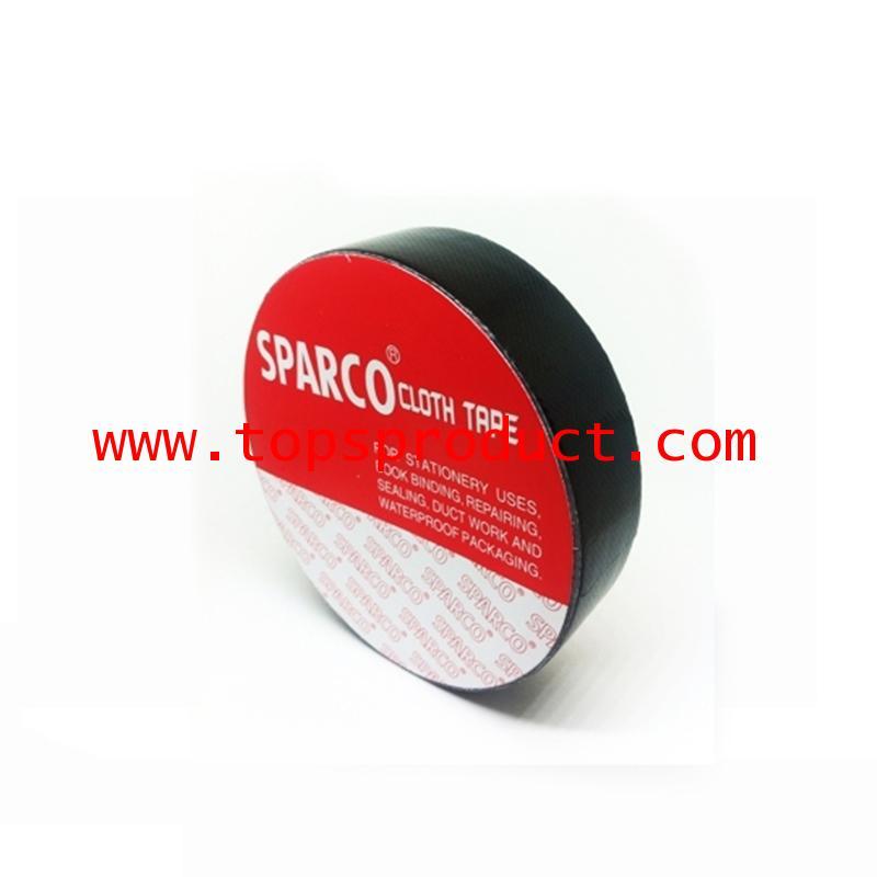 เทปผ้าสีดำ 1นิ้วx8หลา SPARCO