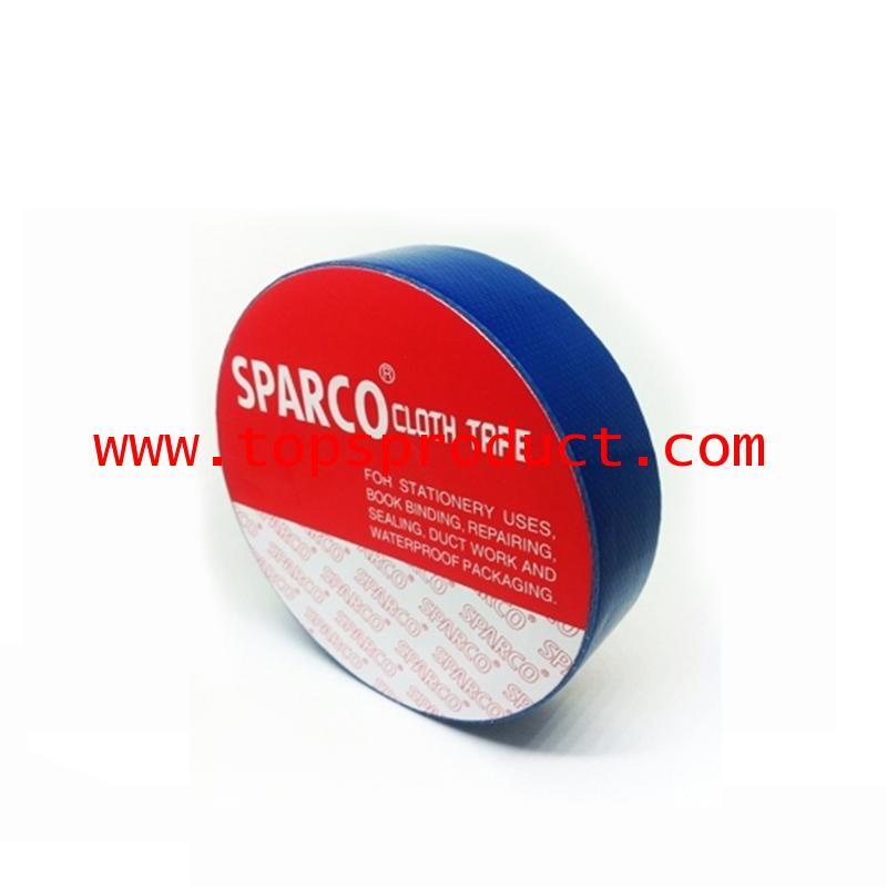 เทปผ้าสีน้ำเงิน 1นิ้วx8หลา SPARCO