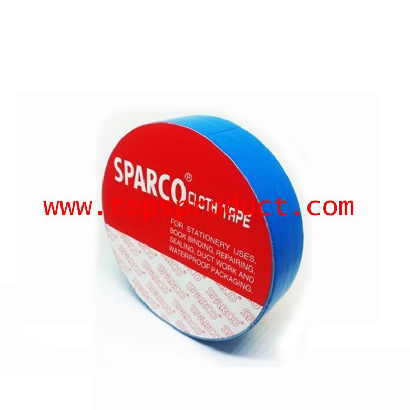 เทปผ้าสีฟ้า 1นิ้วx8หลา SPARCO