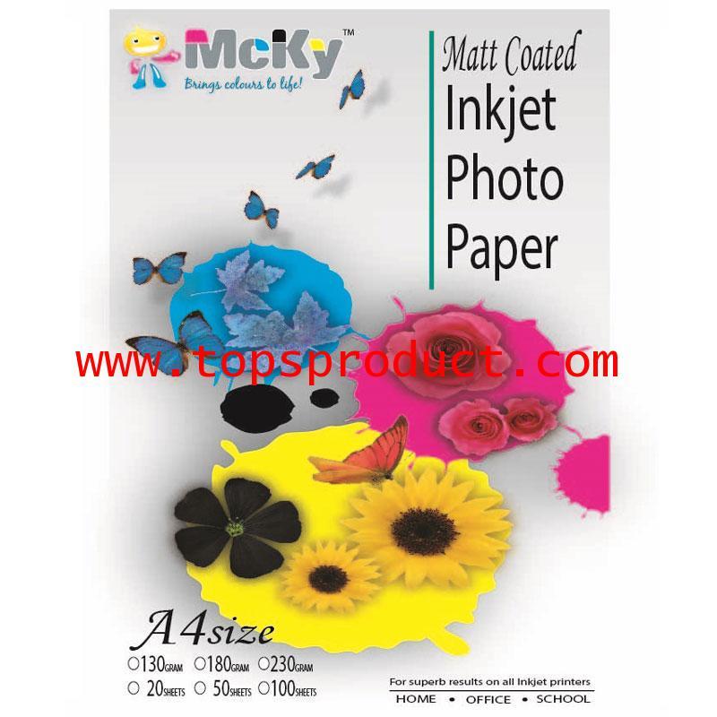 Inkjet Photo Paper A4 Mcky
