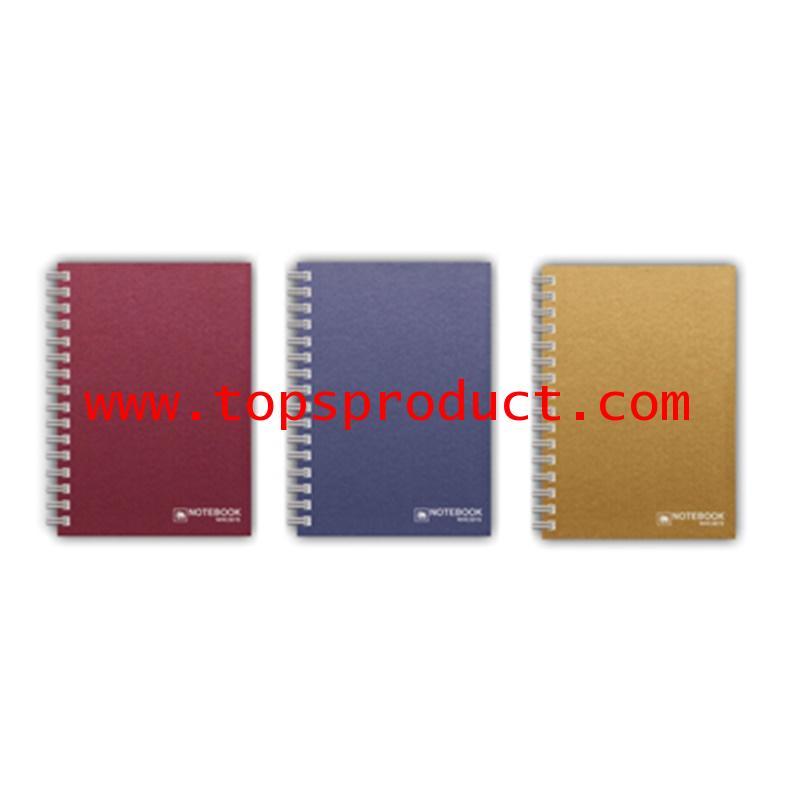 สมุดริมลวดช้าง ปกแข็ง A6 คละสี ตราช้าง WHC303/SATIN/A6