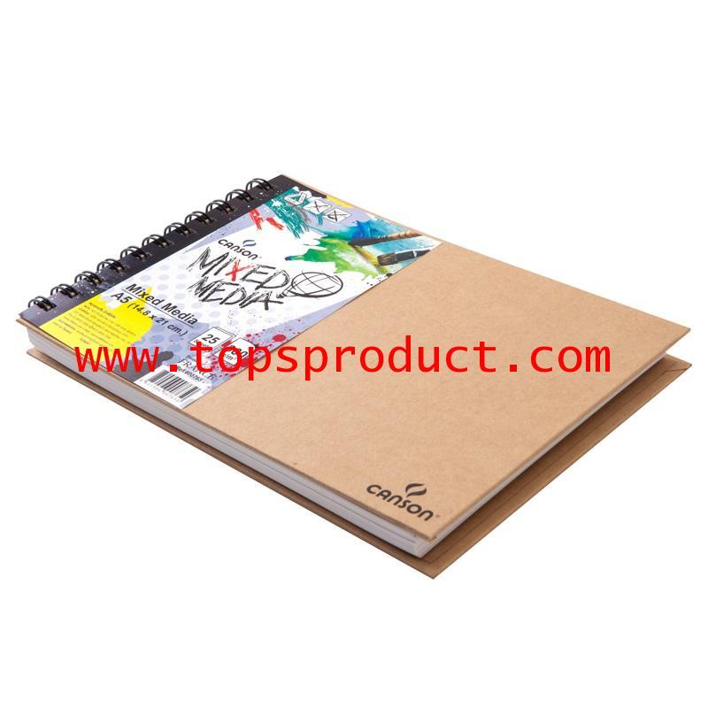 สมุดMixed Media A5 300แกรม (25แผ่น/เล่ม) แคนสัน 600765