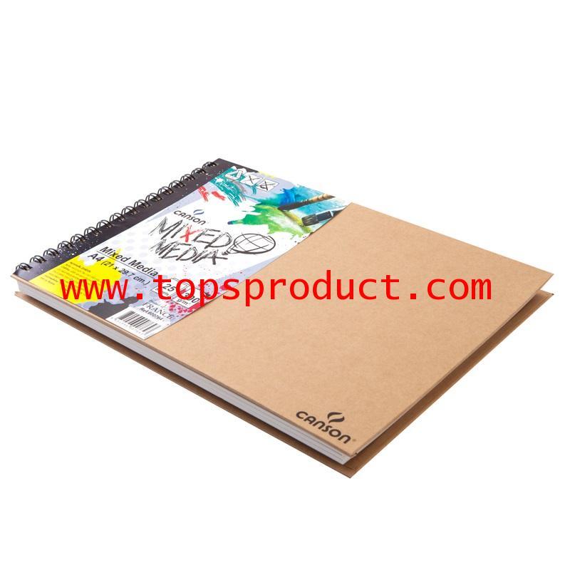 สมุดMixed Media A4 300แกรม (25แผ่น/เล่ม) แคนสัน 600764