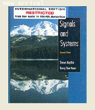 Signals and Systems2ED ISV Y2003 ISBN 9780471378518