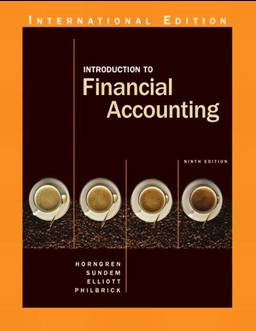 Introduction to Financial Accounting,9ED