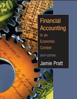 Financial Accounting in an Economic Context, 6E