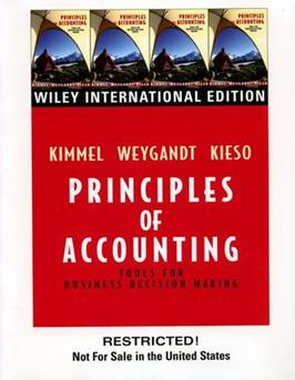 Principles of Accounting-WIE