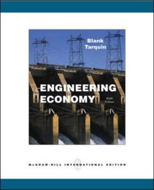 Engineering Economy, 6th Edition