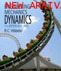 Engineering Mechanics - Dynamics 11ED SI Units-Hibbeler ISBN 9780132038126