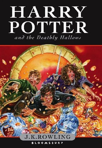Harry Potter and the Deathly Hallows Book 7 Hardcover UK version