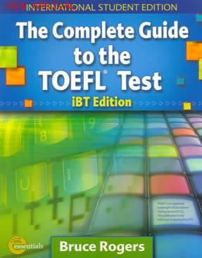 COMPLETE GUIDE TO THE TOEFL IBT ISBN 9781413023114