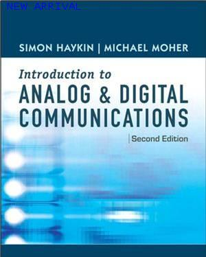 An Introduction to Analog and Digital Communications, 2nd Edition ISBN 9780471432227
