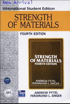 Strength of Material, 4ED 9780321043511