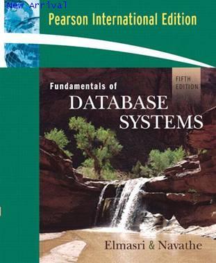 Fundamental of Database Systems ,5ED