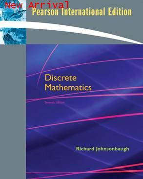 Discrete Mathematics,7E