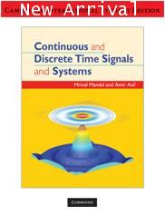 Continuous and Discrete Time Signals and Systems ISBN 9780521728416
