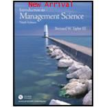 Introduction to Management Science 9th ISBN9780131961333