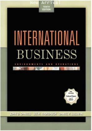 International Business 10E ISBN9780131217263