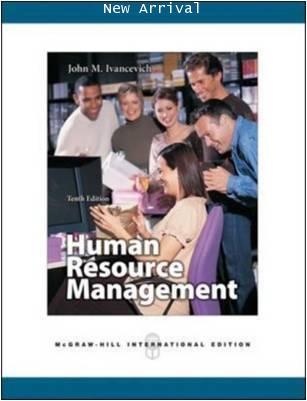 Human Resource Management 10E ISBN9780071254236