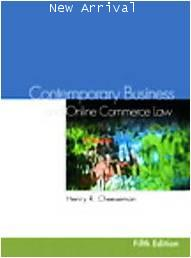 Contemporary Business And Online Commerce Law 5E ISBN9780131496606