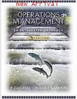 Operations Management: An Integrated Approach 3E ISBN9780471794486