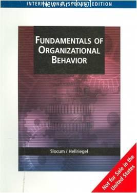 Fundamental of Organization Behavior 1E ISBN 9780324422566