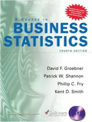 Business Statistics 4E ISBN9780131536876