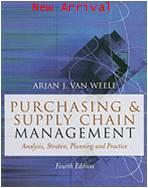 Purchasing and Supply Chain Management: Analysis Strategy Planning and Practice ISBN9781844800247
