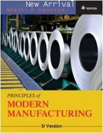 Principles of Modern Manufacturing 4ED/ISBN9780470505922