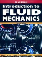 Introduction to Fluid Mechanics, 7ED ISBN9780470234501