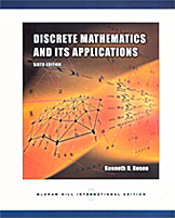 Discrete Mathematics and Its Applications (IE)/6ED/ISBN9780071244749