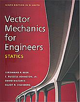 Vector Mechanics for Engineers: Statics, 9ed, 9780071311076 (SI)