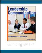 Leadership Communication 11 ISBN9780071267427
