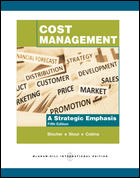 Cost Management A Strategic Emphasis 5ED ISBN9780071267489