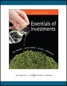 Essentials of Investments Without SP 8ED ISBN 9780071267496