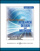 Research Design and Methods A Process Approach 8ED Y2011 ISBN9780071289153