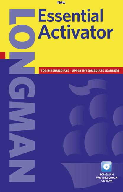 LONGMAN Essential Activator 2ED BookCDROM ISBN9781405815680