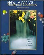 Analytical Chemistry 7ED Skoog ISBN 9780030202933