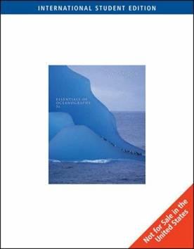ESSENTIALS OF OCEANOGRAPHY (ISE)