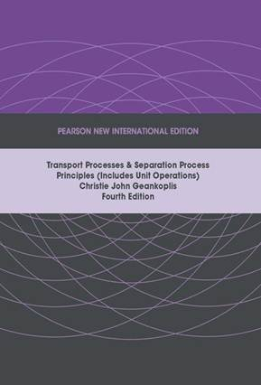 Transport Processes and Separation Process Principles  ISBN 9781292026022